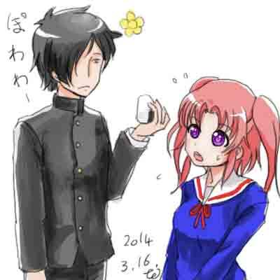 イケメン化したR田中一郎にはおにぎりを持たせてみた